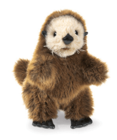 Folkmanis 3 Plus Hand Puppet - Animal - Baby Sea Otter
