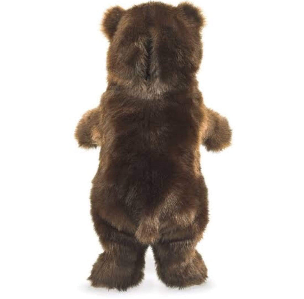 Folkmanis 3 Plus Hand Puppet - Animal - Bear, Standing