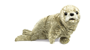 Folkmanis 3 Plus Hand Puppet - Animal - Harbor Seal