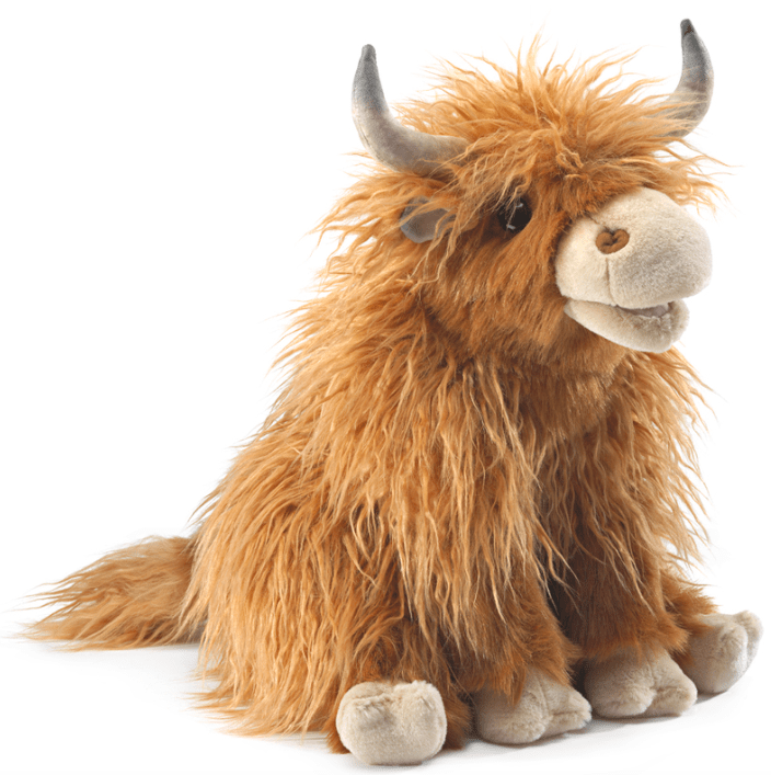 Folkmanis 3 Plus Hand Puppet - Animal - Highland Cow