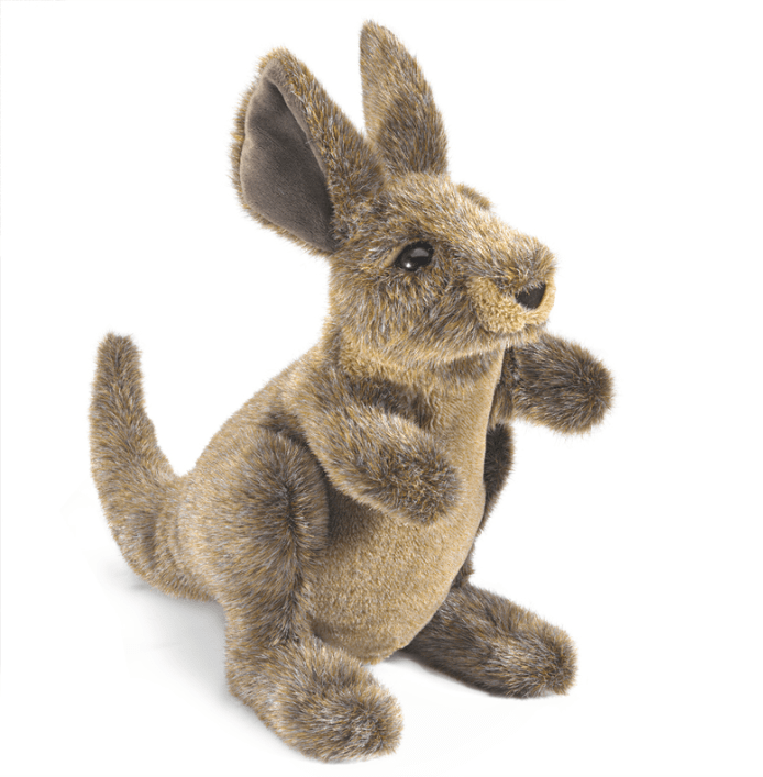 Folkmanis 3 Plus Hand Puppet - Animal - Kangaroo