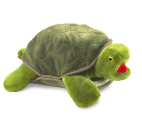 Folkmanis 3 Plus Hand Puppet - Animal - Large Turtle