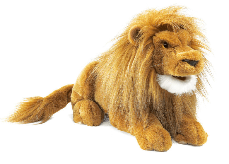 Folkmanis 3 Plus Hand Puppet - Animal - Lion