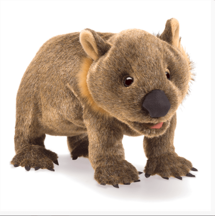 Folkmanis 3 Plus Hand Puppet - Animal - Wombat
