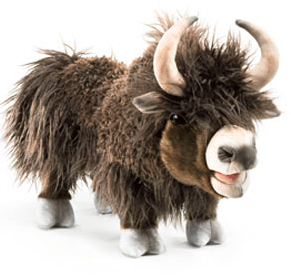 Folkmanis 3 Plus Hand Puppet - Animal - Yak