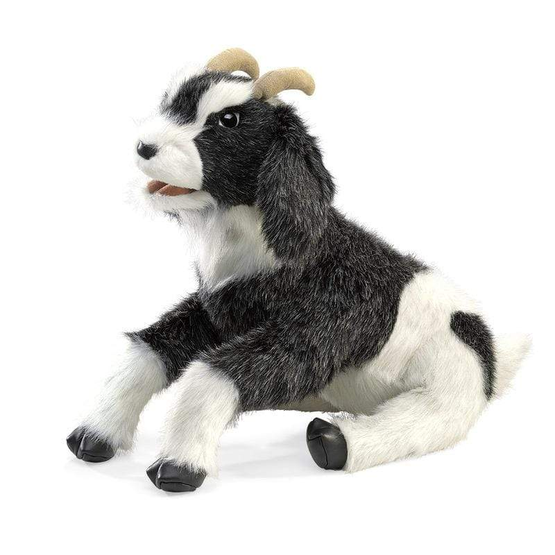 Folkmanis 3 Plus Hand Puppet - Farm Animal - Goat