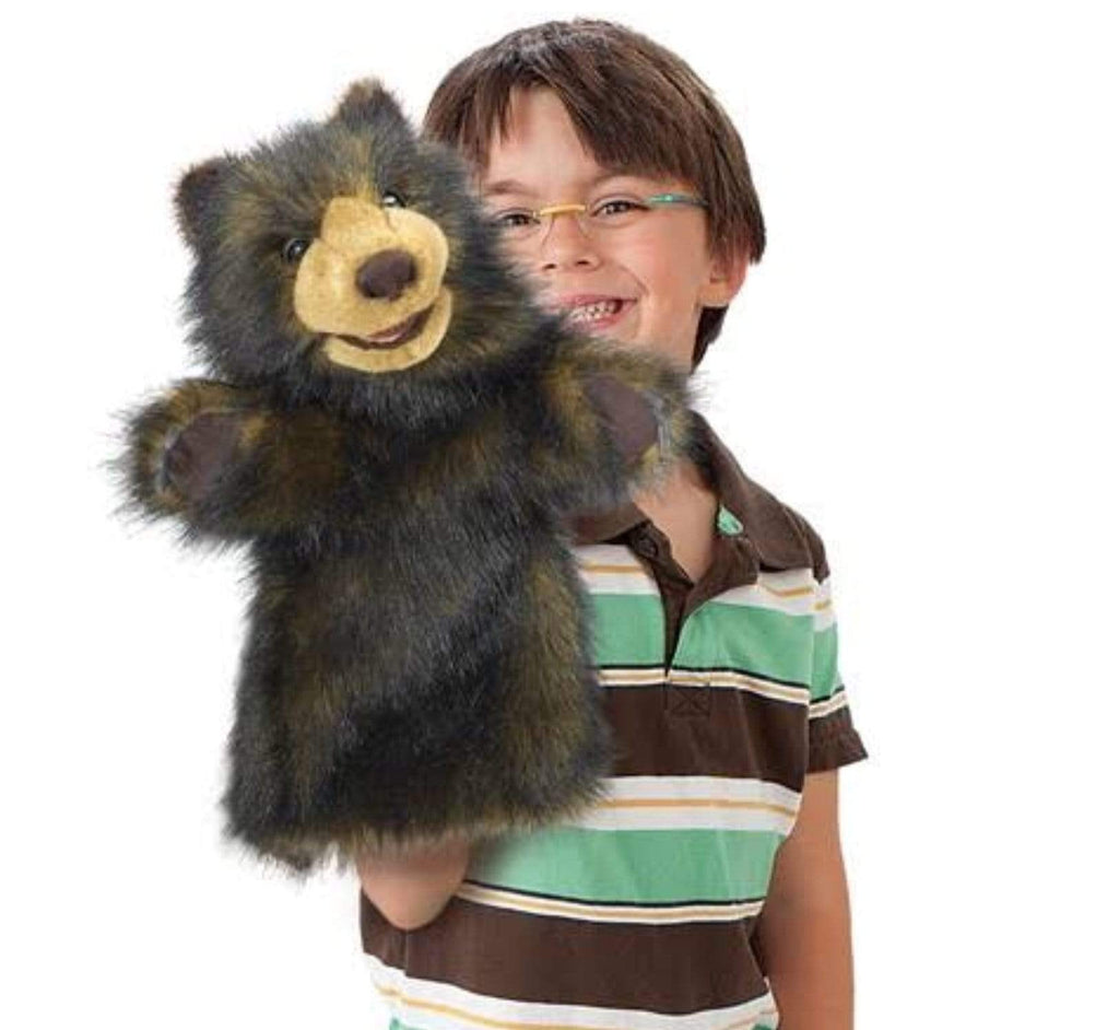 Folkmanis 3 Plus Stage Puppet - Bear