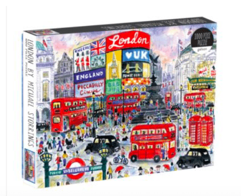 Galison 10 Plus 1000 Pc Puzzle - MS London