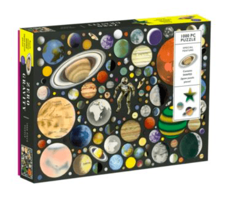 Galison 10 Plus 1000 Pc Puzzle - Zero Gravity