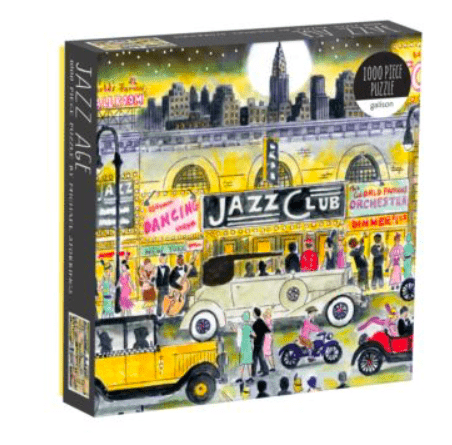Galison 13+ 1000 Pc Puzzle - Jazz Age