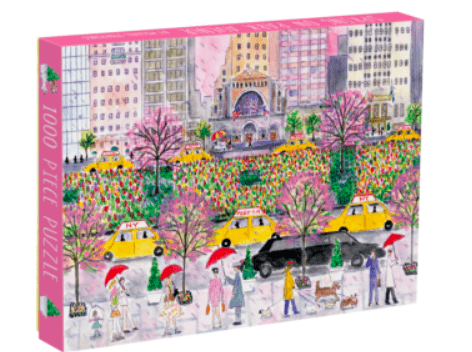 Galison 13+ 1000 Pc Puzzle - MS Spring On Park Avenue