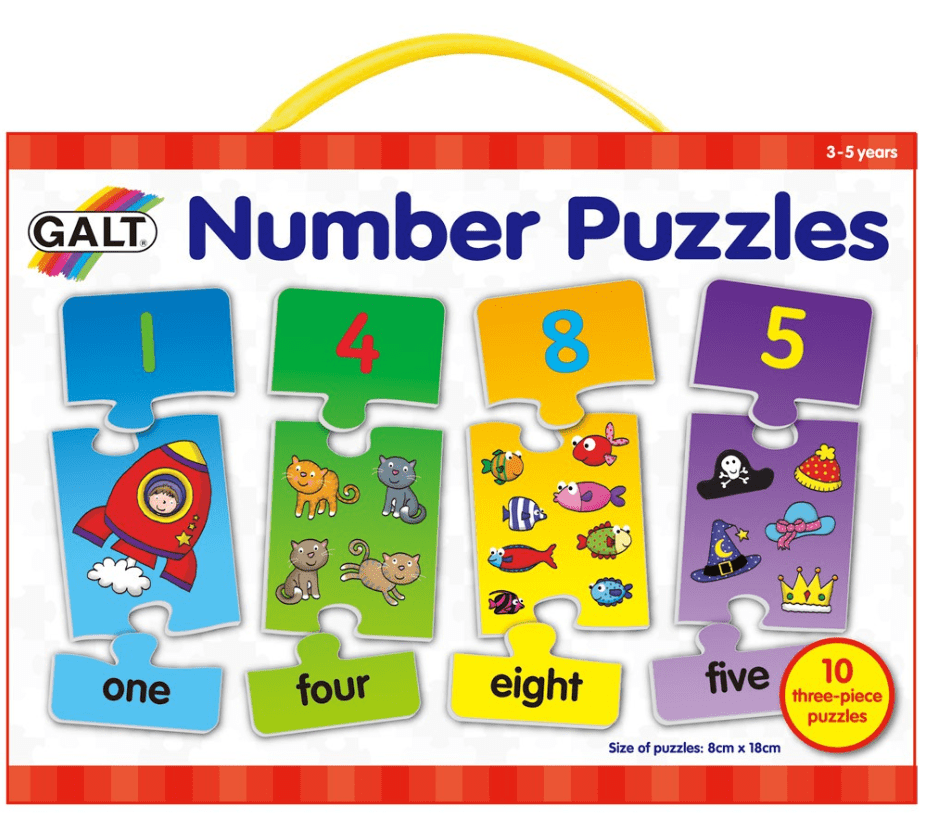 Galt 2 to 3 Years Puzzle - Baby - Numbers