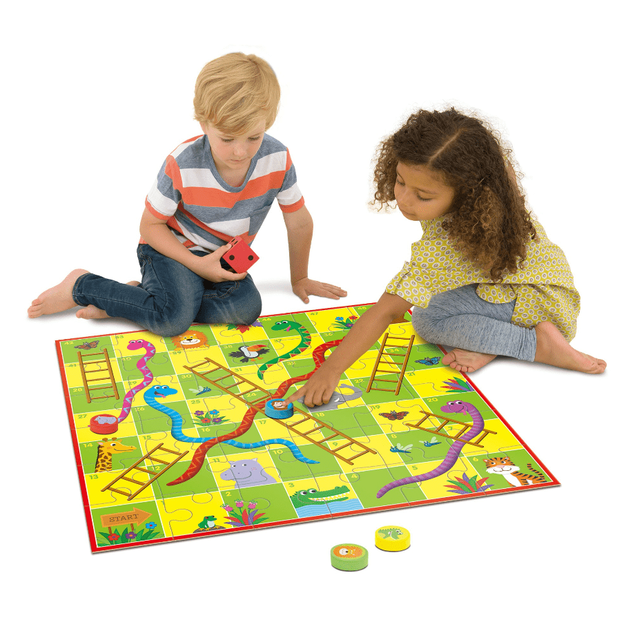 Galt 3 Plus Giant Snakes and Ladders Puzzle