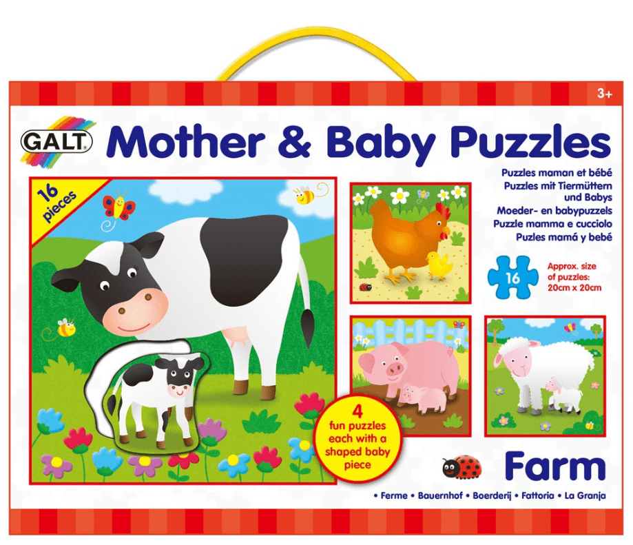 Galt 3 Plus Mother & Baby Puzzles