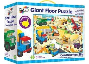 Galt 3 Plus Puzzle - Giant Floor - 30pc Construction Site