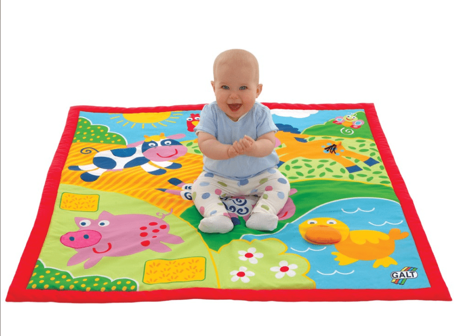Galt Birth to 12 Months Large Playmat - Farm