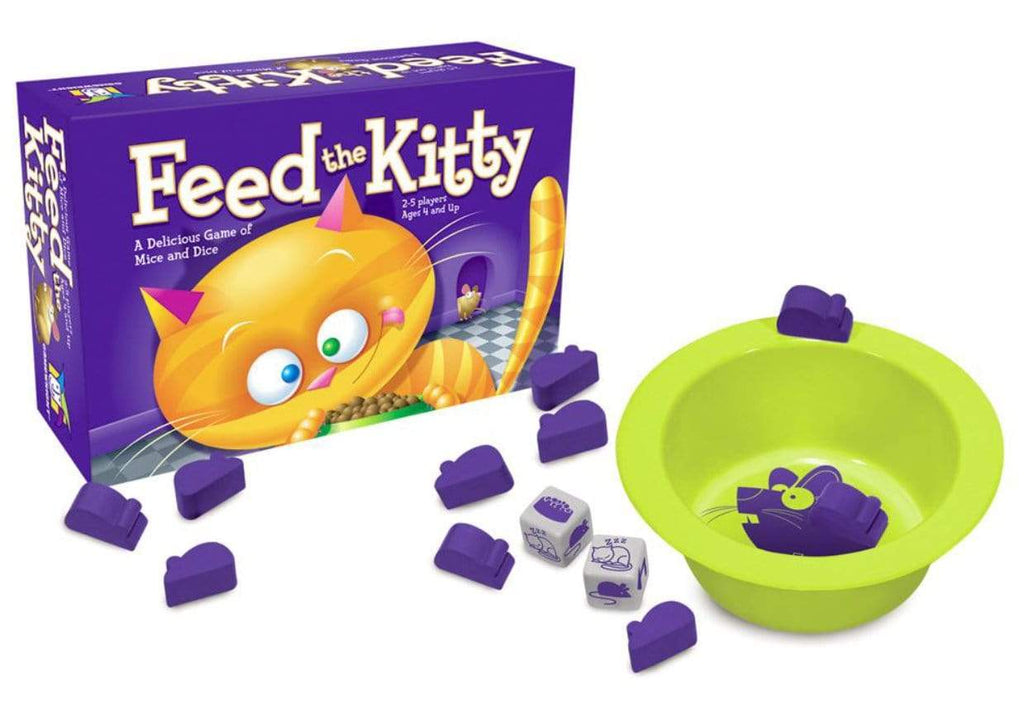 Gamewright 4 Plus Feed The Kitty