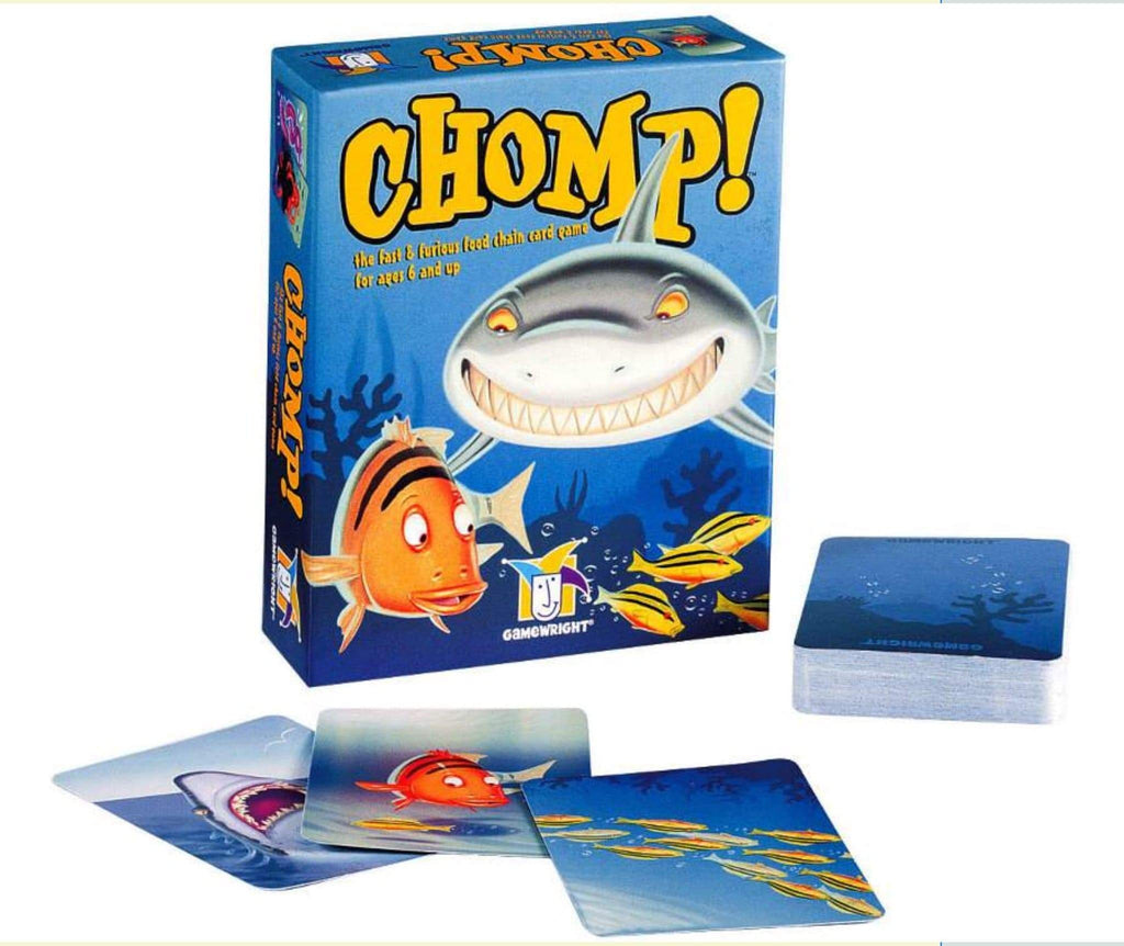 Gamewright 6 Plus Chomp