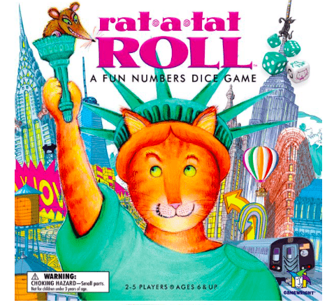 Gamewright 6 Plus Rat-a-Tat Roll
