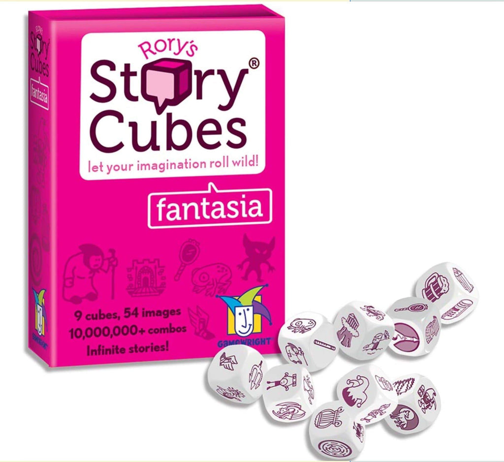 Gamewright 8 Plus Rory's Story Cubes - Fantasia