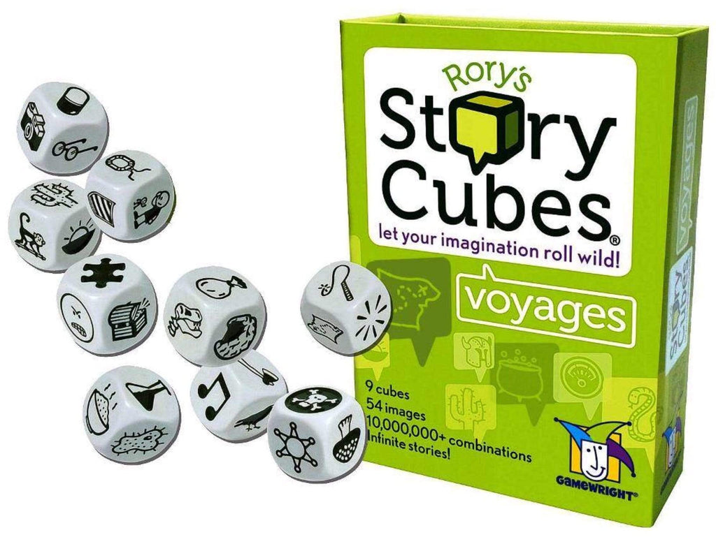 Gamewright 8 Plus Rory's Story Cubes - Voyages