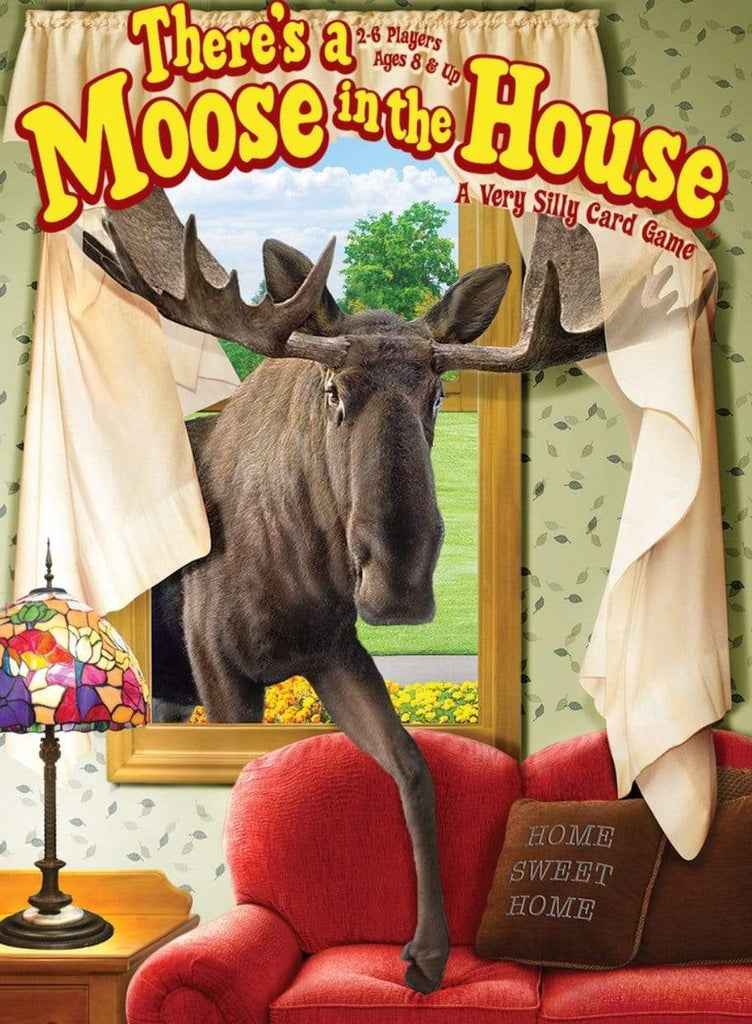 Gamewright 8 Plus There's a Moose in the House