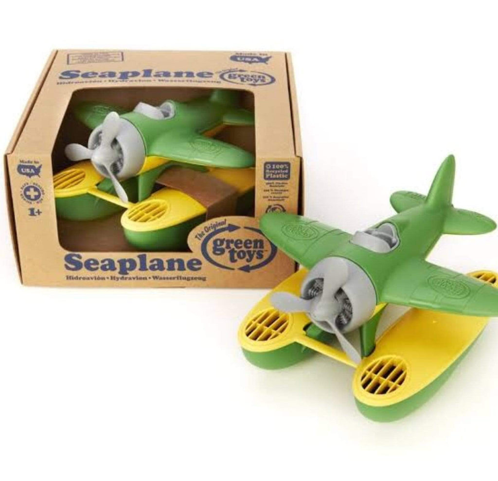 Green Toys 12 Mths Plus Seaplane - Green