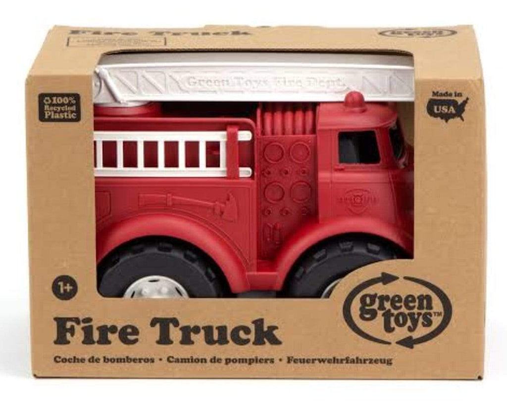 Green Toys 12 Mths Plus Vehicle - Fire Truck