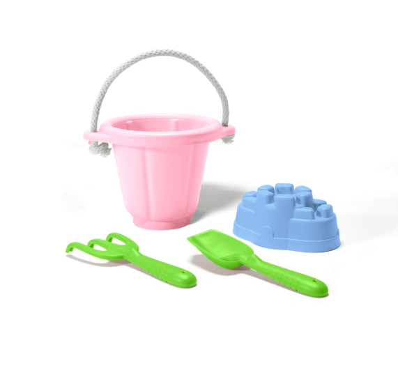 Green Toys 18 Mths Plus Sand Pit Set - Pink