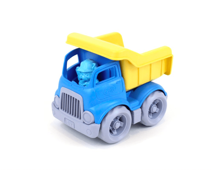Green Toys 2 Plus Construction Dump Truck