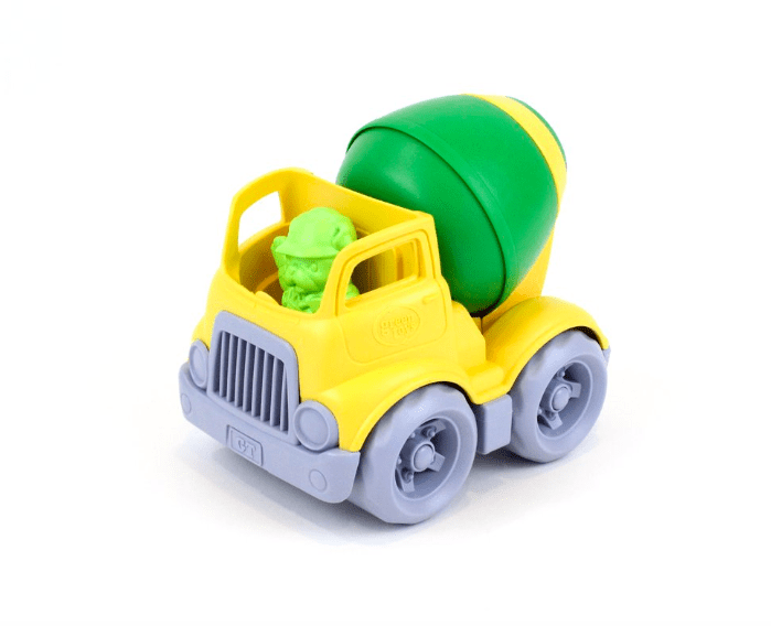 Green Toys 2 Plus Construction Mixer Truck