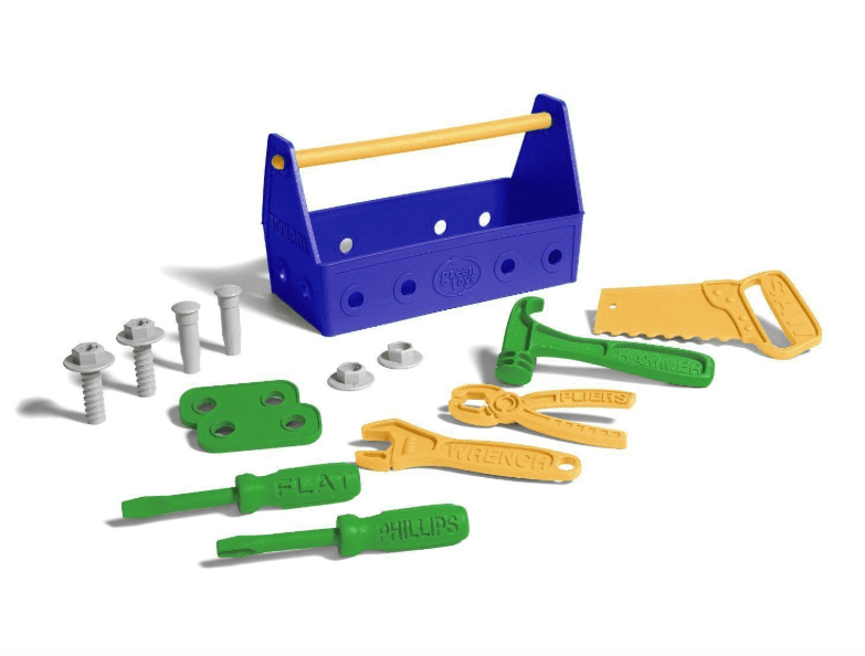 Green Toys 2 Plus Tool Set - Blue
