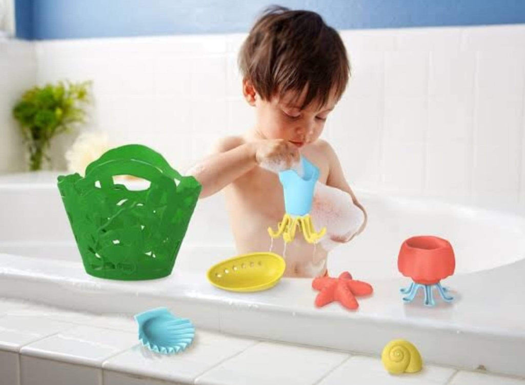 Green Toys 6 Mths Plus Tide Pool Set Green
