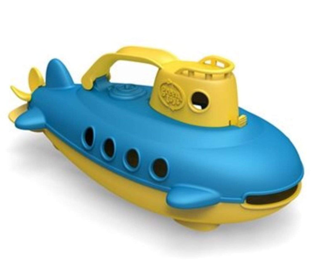 Green Toys Birth Plus Submarine - Yellow Cabin
