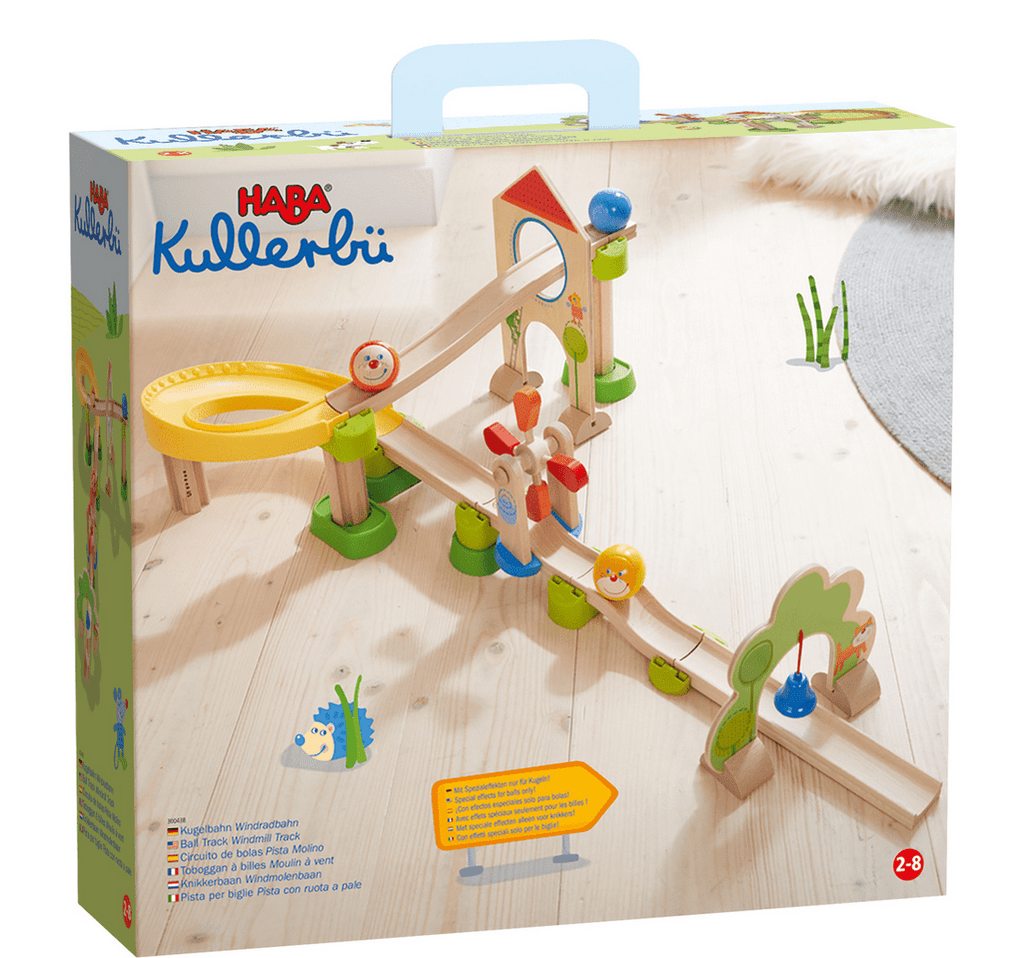 Haba 2 Plus Ball Track Rollerby - Windmill Track