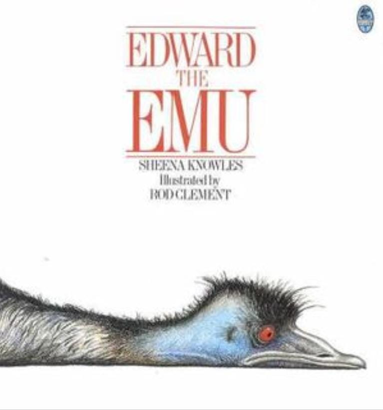 Harper Collins 2 Plus Edward The Emu - Sheena Knowles / Rod Clement