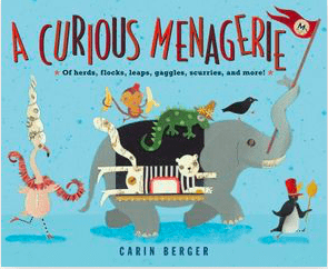 Harper Collins 4 Plus A Curious Menagerie - Carin Berger