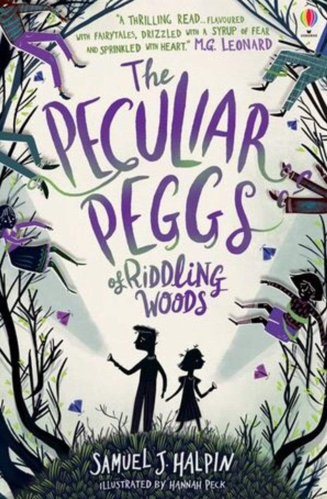 Harper Collins 9 Plus The Peculiar Pegs of Riddling Woods - Samuel J Halpin