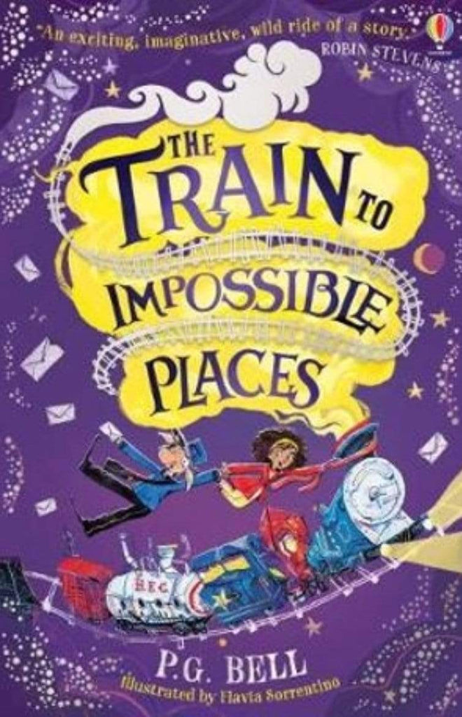 Harper Collins Child Fiction 7 Plus The Train to Impossible Places