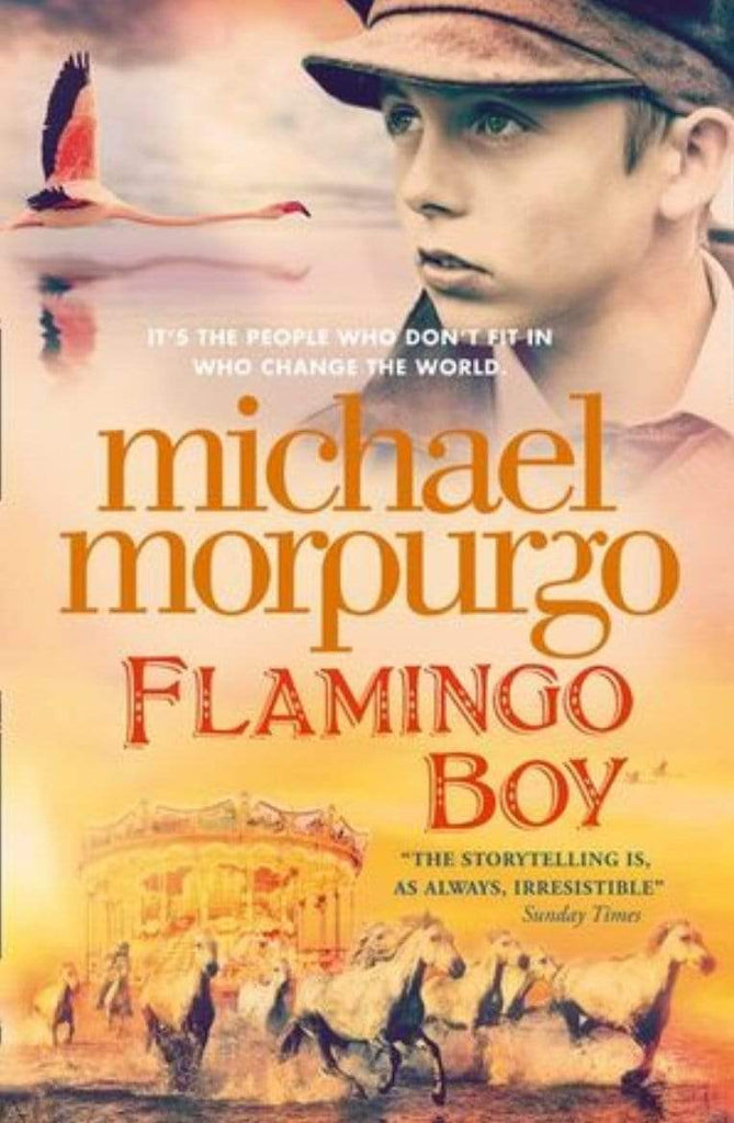 Harper Collins Child Fiction 8 Plus Flamingo Boy - Michael Morpurgo