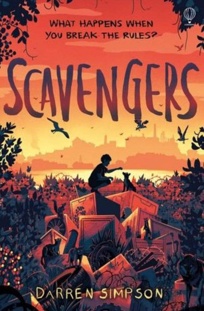 Harper Collins Child Fiction 8 Plus Scavengers - Darren Simpson
