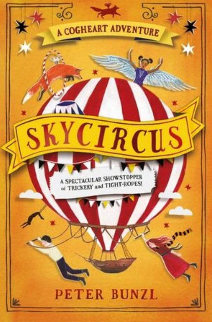 Harper Collins Child Fiction 9 Plus Skycircus - Peter Bunzl