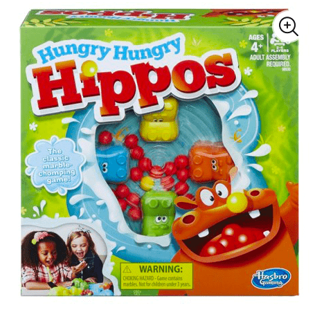 Hasbro 4 Plus Hungry Hippo