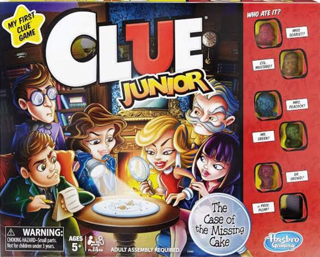 Hasbro 5 Plus Cluedo Junior