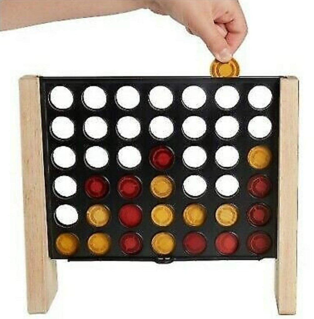 Hasbro 6 Plus Connect 4 Rustic