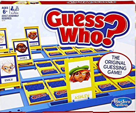 Hasbro 6 Plus Guess Who?