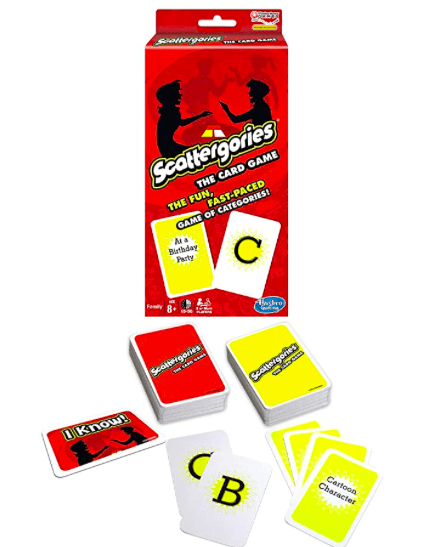 Hasbro 8 Plus Scattergories Card Game