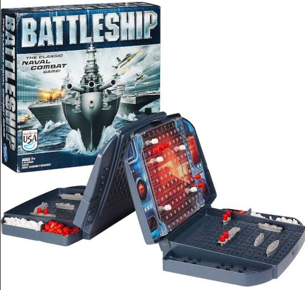 Hasbro Child Fiction 7 Plus Battleships