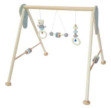 Hess Birth to 12 Months Baby Gym - Natural Blue