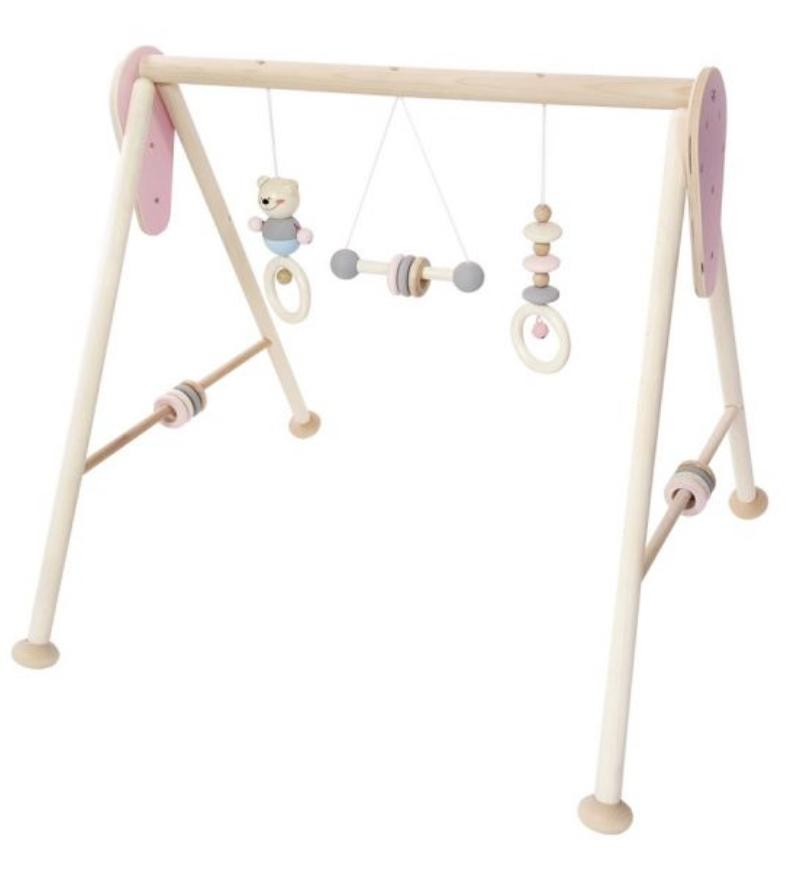 Hess Birth to 12 Months Baby Gym - Natural Pink